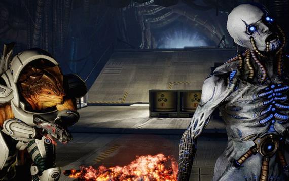 La potencia necesaria para despegar con Mass Effect 2