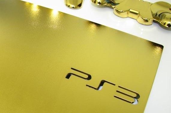 Todos a comprar: La PS3 Slim bañada en Oro de 24k [Idioteces y Excentricidades]