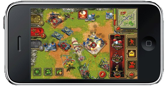 Command and Conquer: Red Alert iPhone [RTS]