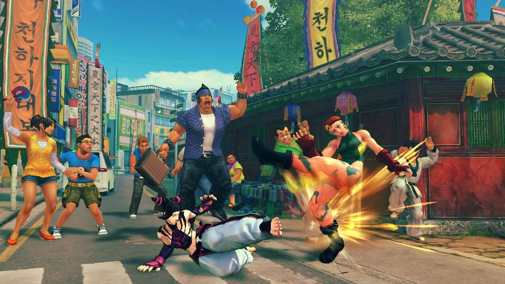 Capcom despacha 5 nuevos escenarios para Super Street Fighter IV [Screens]