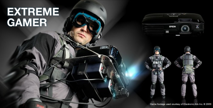 Epson nos enseña un verdadero Extreme Gamer [Proyector + PS3]