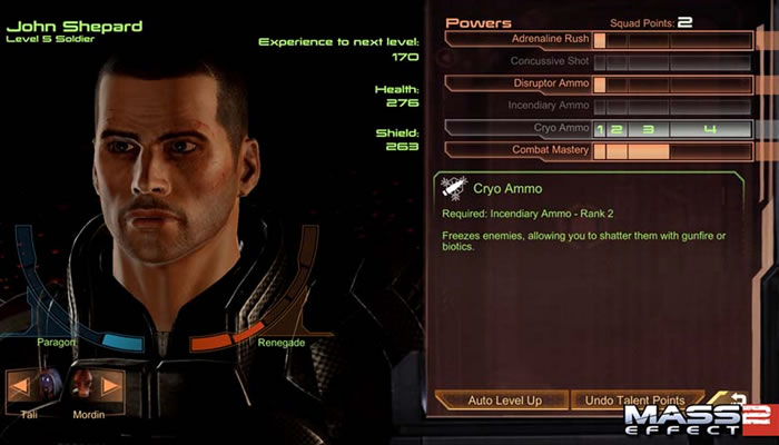 Bioware nos detalla el sistema para importar partidas guardadas en Mass Effect 2