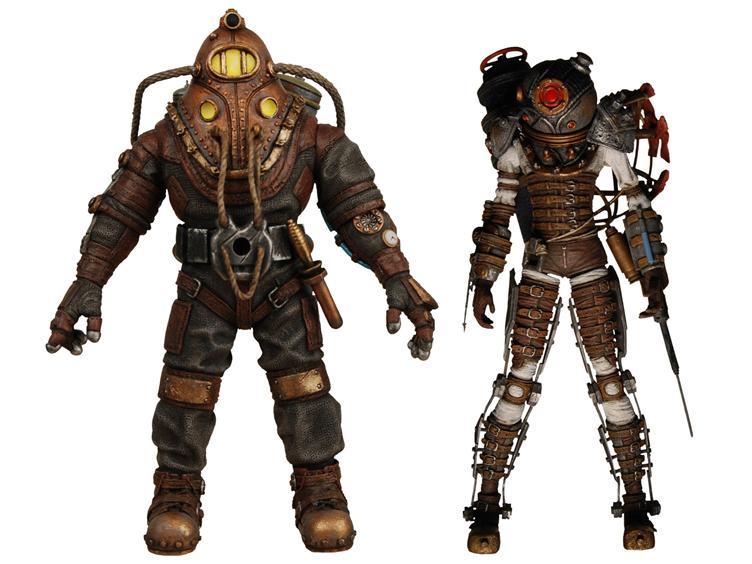 A comprar las figuritas de Bioshock 2 mientras esperamos el juego