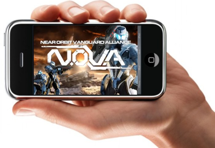 N.O.V.A  iPhone/iPod [FPS - Trailer]