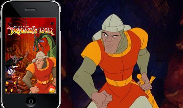 Vuelve un clasico para iPhone, Dragon's Lair.
