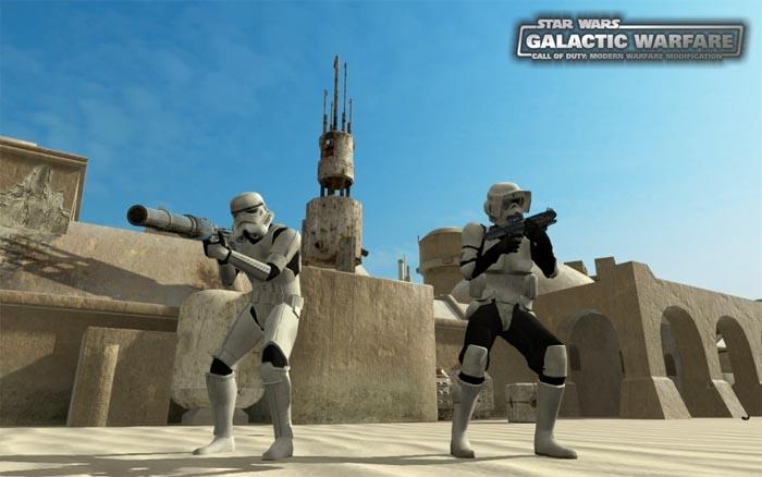 Galactic Warfare: Star Wars Mod en Call of Duty 4 [Gameplay]