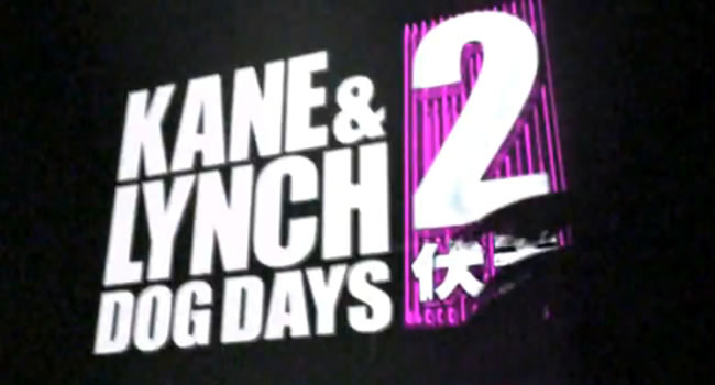Kane and Lynch 2: Dog Days, vuelven aun mas violentos [Trailer]