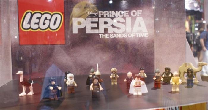 LEGO Prince of Persia basado en la película de Disney