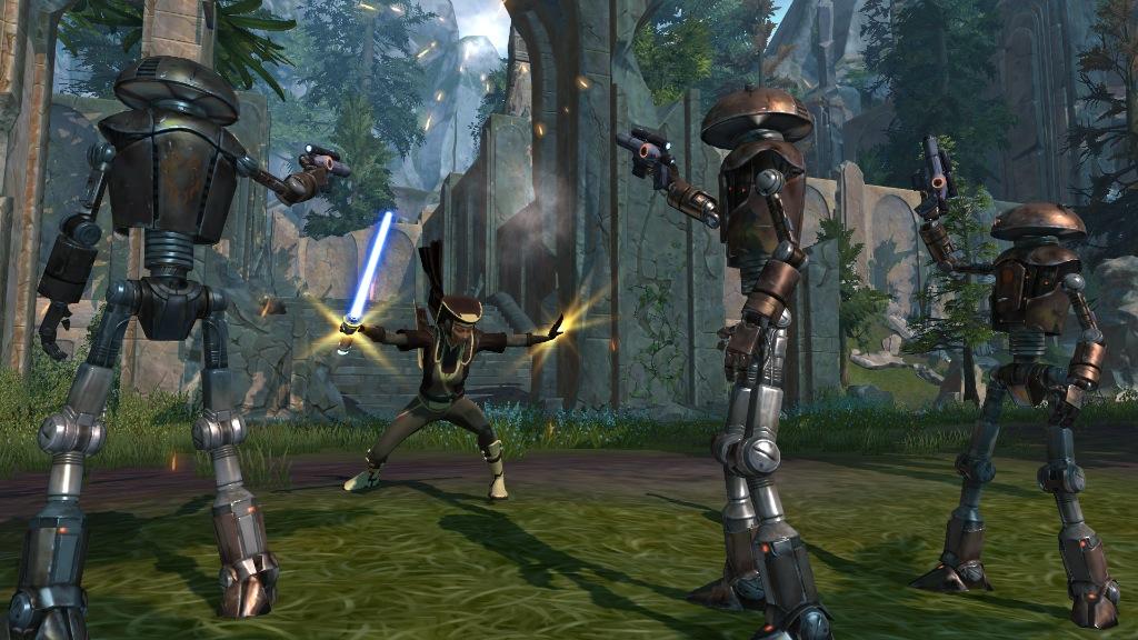 Nuevos detalles de Star Wars: The Old Republic y una tonelada de screenshots [La Fuerza la lleva]