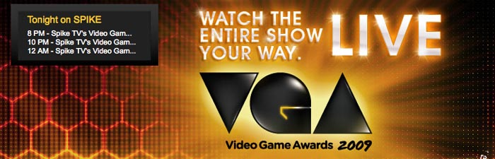 Cobertura de los Video Game Awards 2009 [En Vivo] [FINALIZADO]