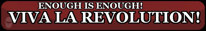 Viva la revolución chico!!    Solo una de las firmas de tantos usuarios descontentos con los cambios