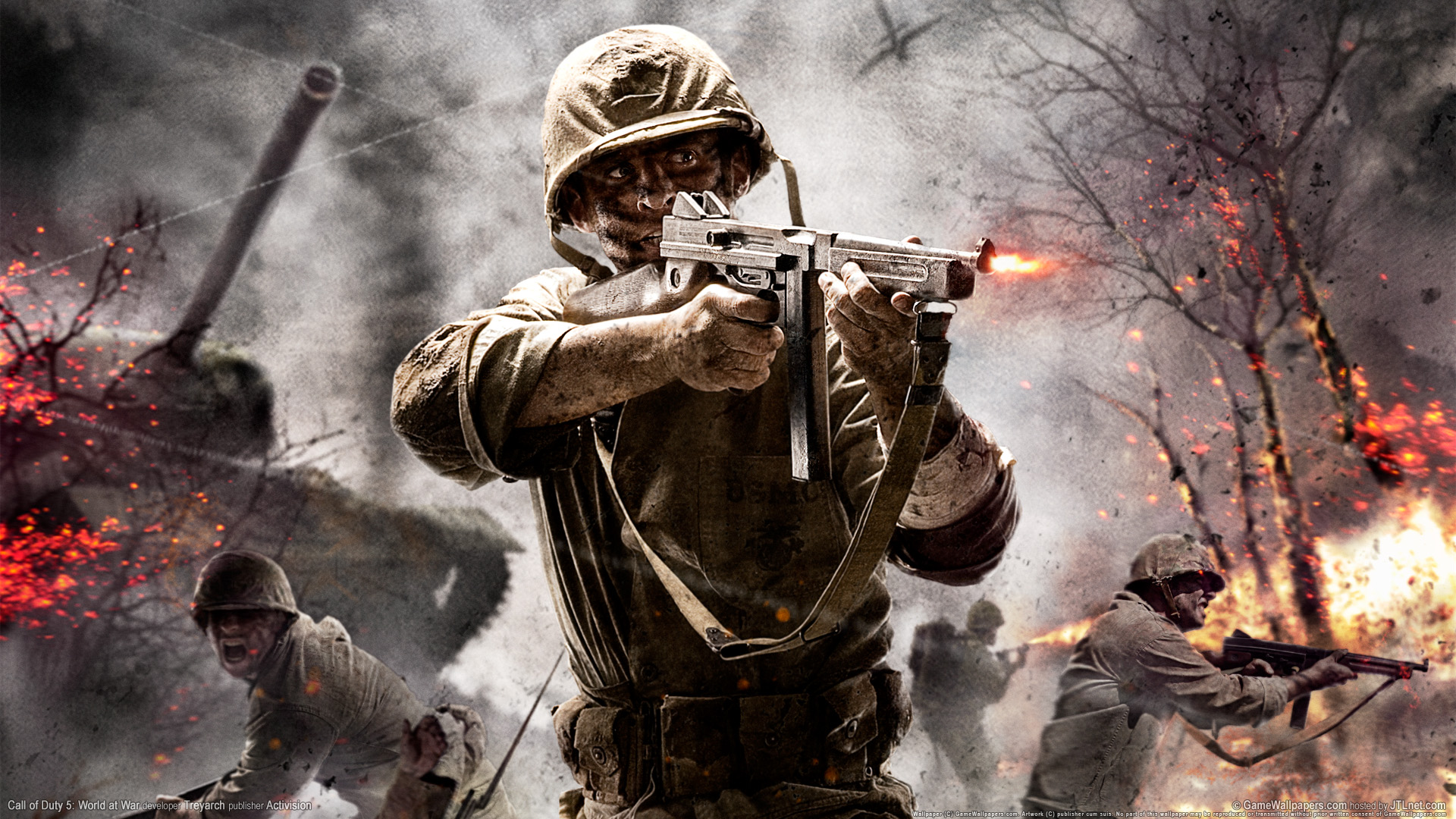 Lanzan un Pack de DLC para Call of Duty: World at War
