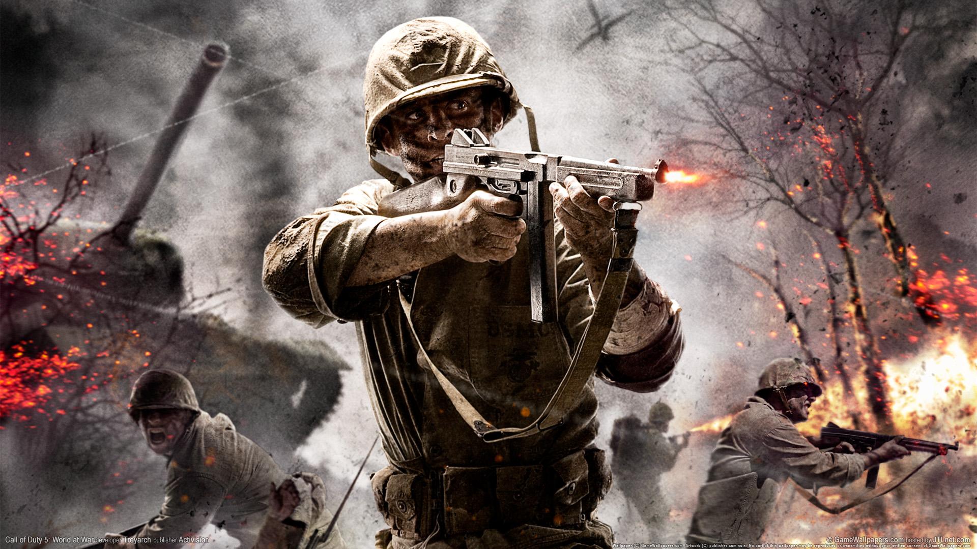 Lanzan un Pack de DLC para Call of Duty: World at War