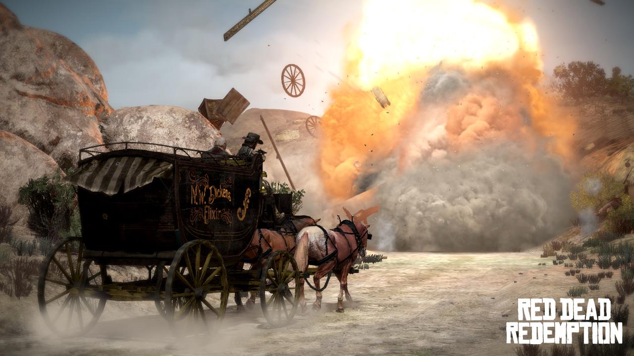 Nuevas screens de Red Dead Redemption nos muestran los paisajes [Screenshots]