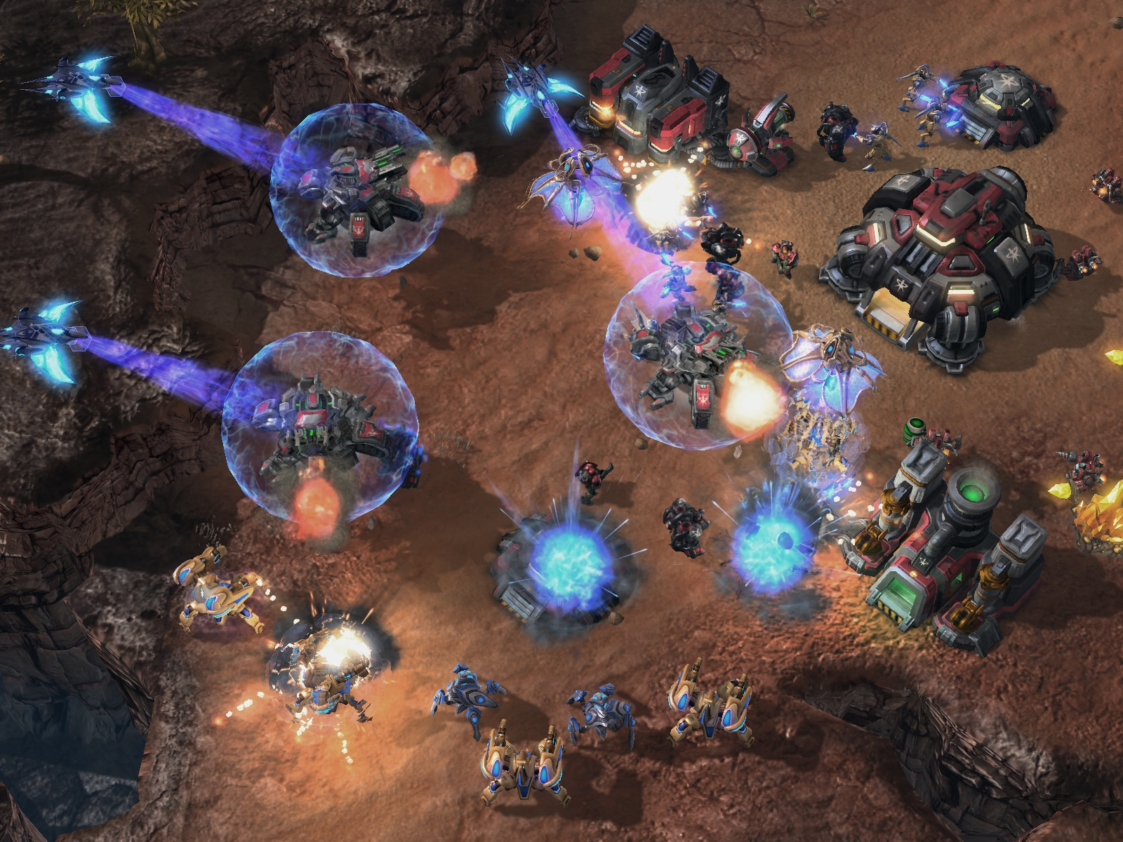 Nuevo video gameplay de Starcraft 2 nos muestra la Mothership Protoss [SWEEET!!]