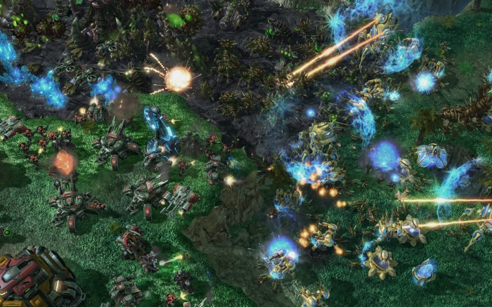Starcraft 2 Screenshot Protoss