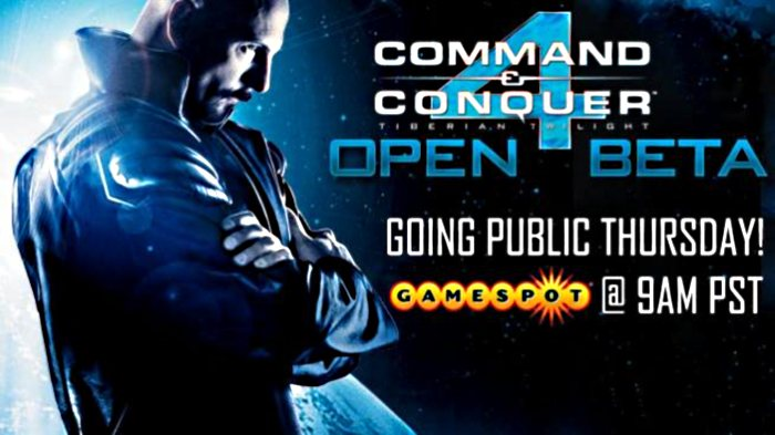 Beta público de Command and Conquer 4: Tiberián Twilight