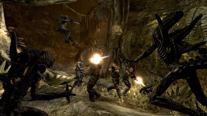 Los primeros minutos de las 3 clases de Alien vs Predator [Gameplay]