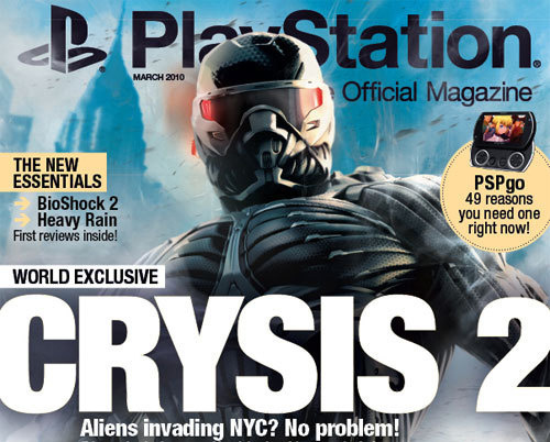 Portada Crysis 2 Revista Oficial Playstation