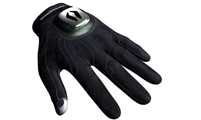El guante para juegos Peregrine, viene dispuesto a reemplazar el teclado.