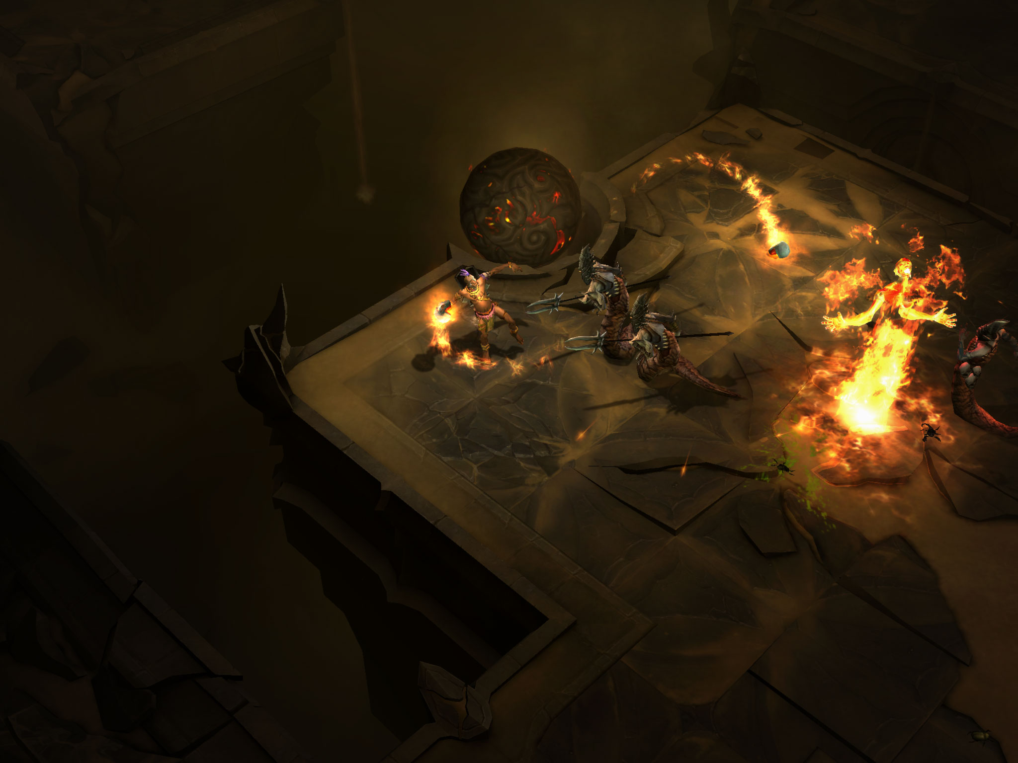 Blizzard muestra nuevas screens de Diablo III [Screenshots High Res]
