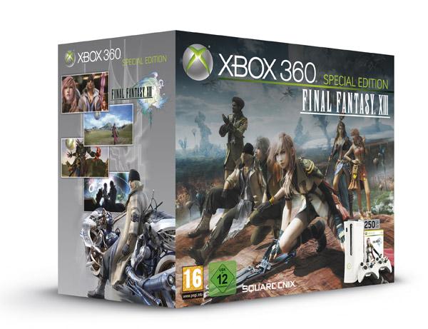 Junto a Final Fantasy XIII Llegarán los discos de 250GB para la XBOX 360