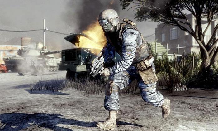 Battlefield: Bad Company 2 tendrá un DLC el día de su lanzamiento.