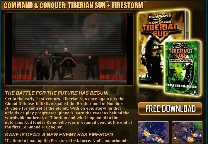 """En el día de los enamorados, EA y Command & Conquer te quieren """"engrupir"""""""