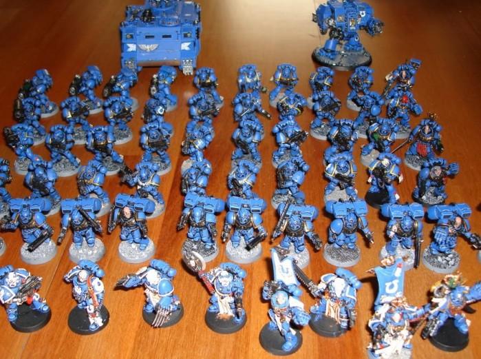 Primeras imagenes de WarHammer 40.000 SpaceMarines [Actualizado!]