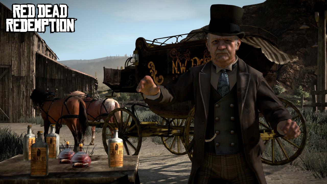 Nuevas screens de Red Dead Redemption nos presentan una tonelada de personajes [Screenshots]