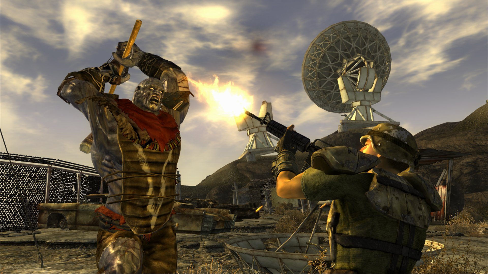 Primeras Screens de Fallout: New Vegas ... y se ven raritas [Screenshots]