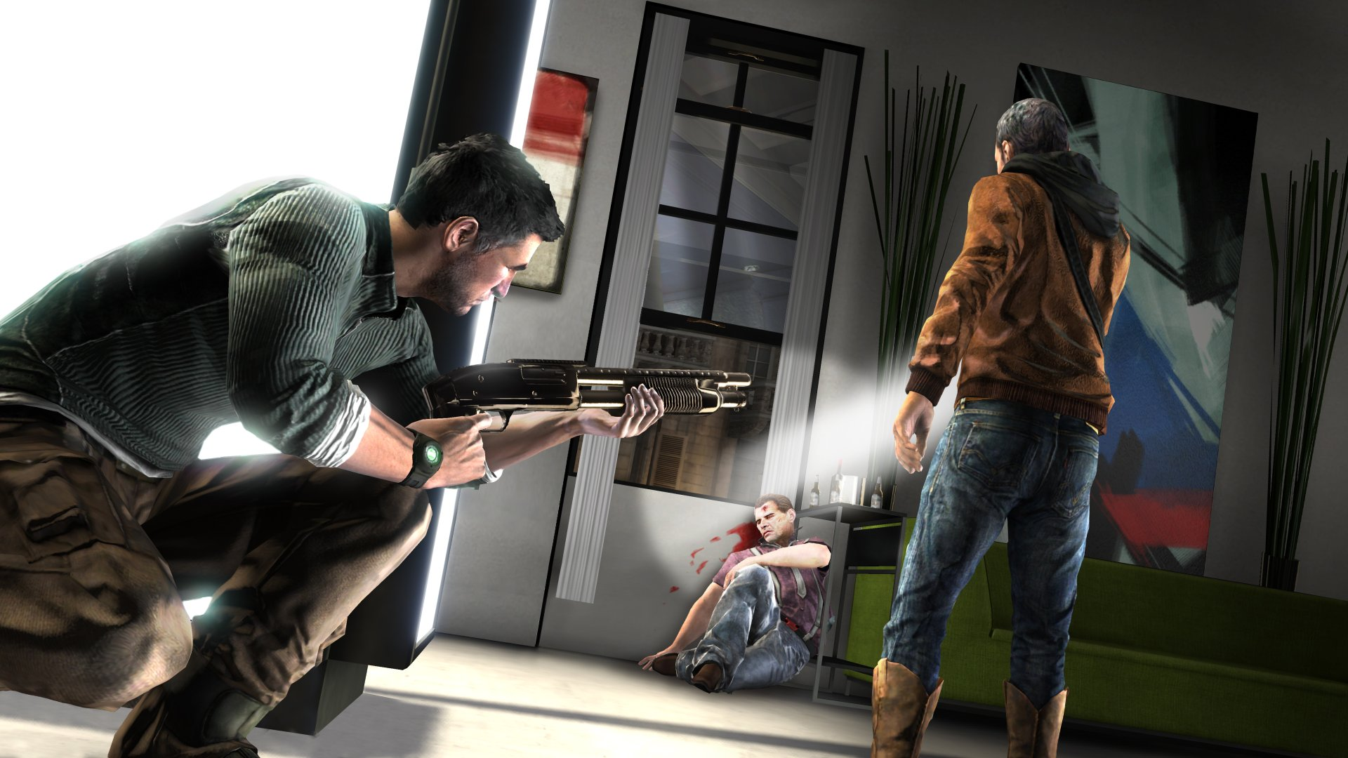 Los aspectos visuales de Splinter Cell Conviction [Video]