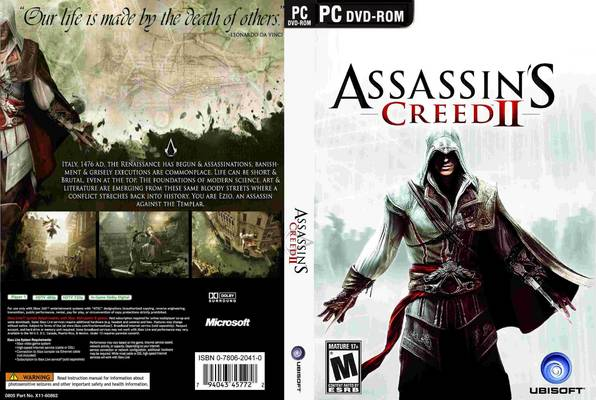 Tapa del Assassins Creed 2