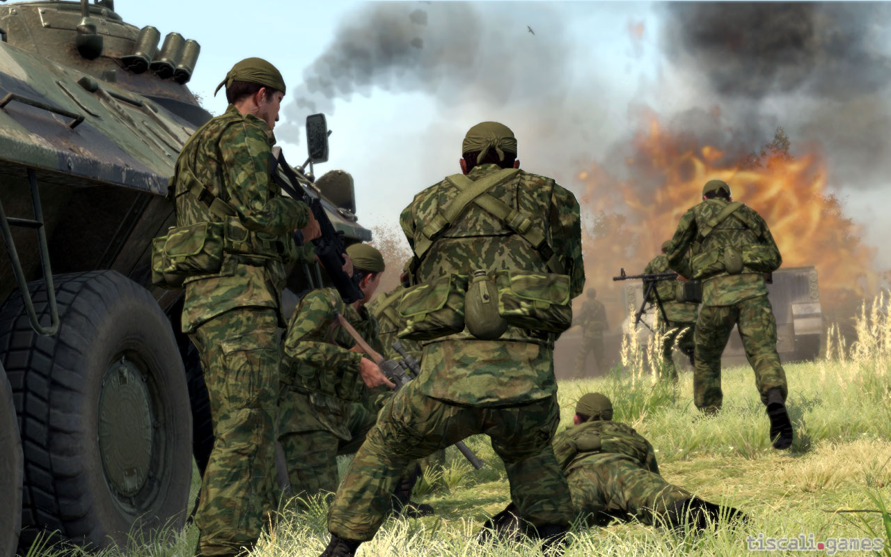 Nuevo trailer de ArmA 2: Operation Arrowhead nos presenta al Blufor [Video]