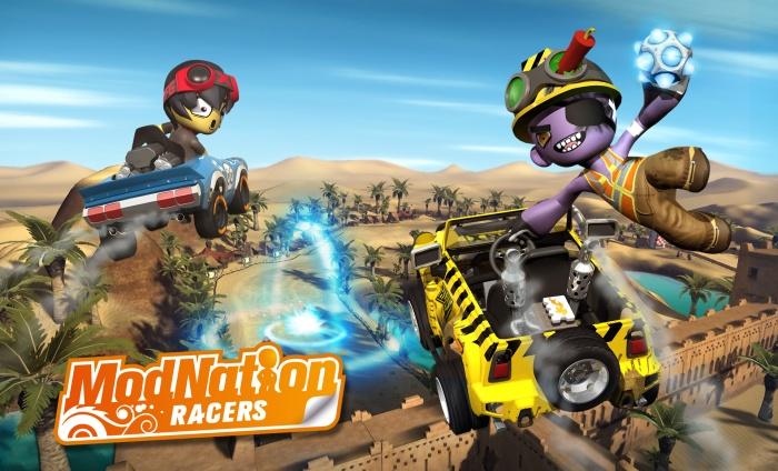 Nuevo trailer de ModNation Racers: Corre, Crea, Comparte [Trailer]