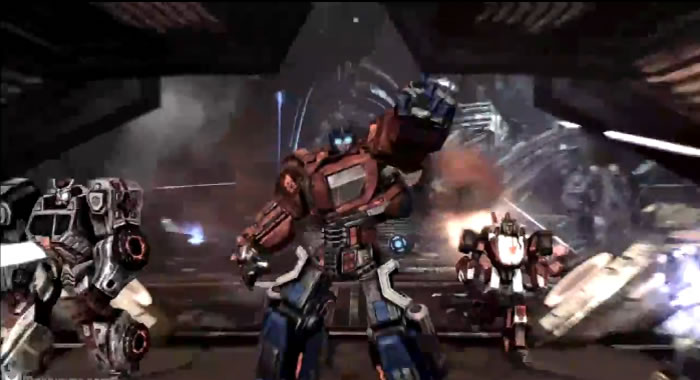 Transformers War for Cybertron Video Gameplay.