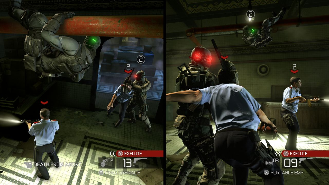 Otra viñeta de Splinter Cell Conviction: Movimientos sincronizados en Coop [Video]