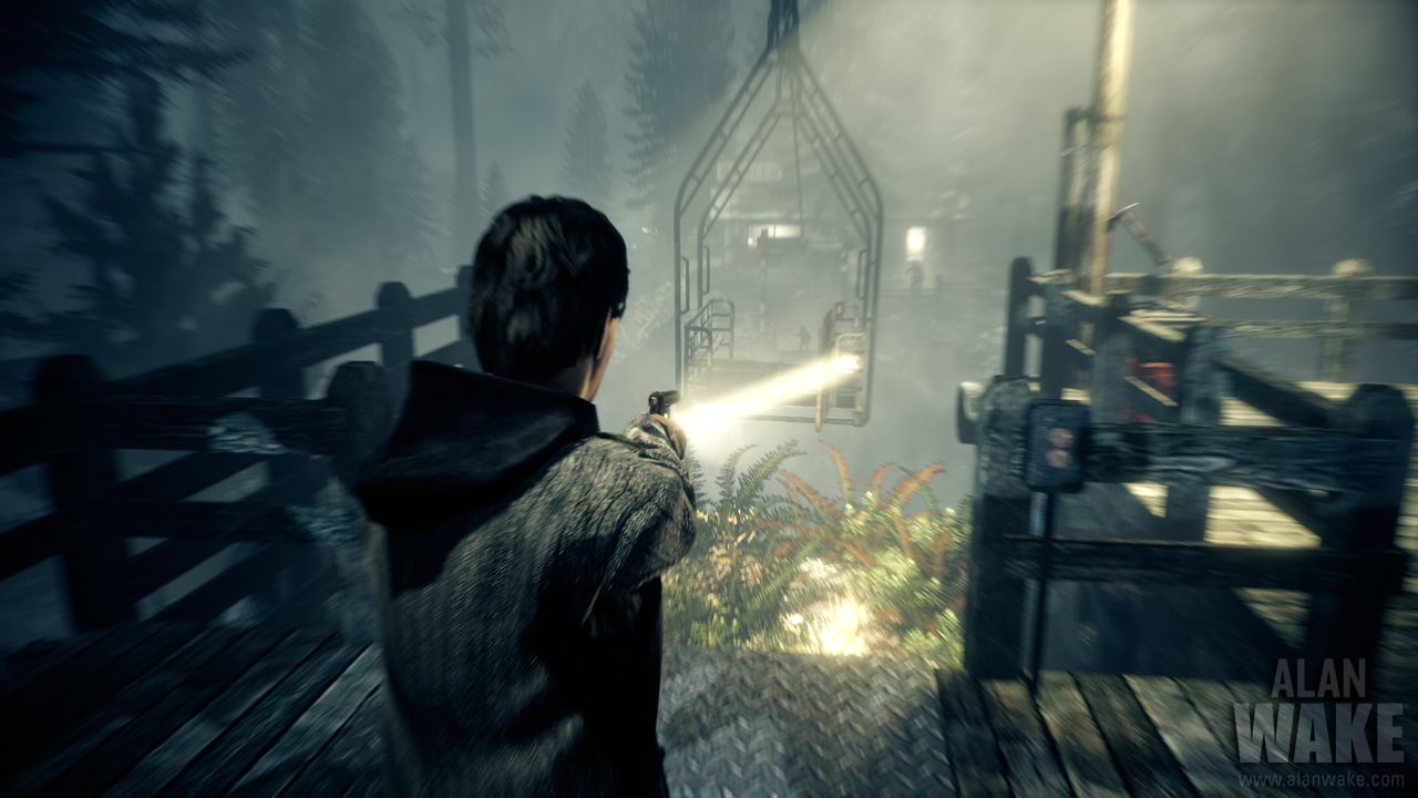 Diez minutos de gameplay de Alan Wake para levantar el ánimo [Video]