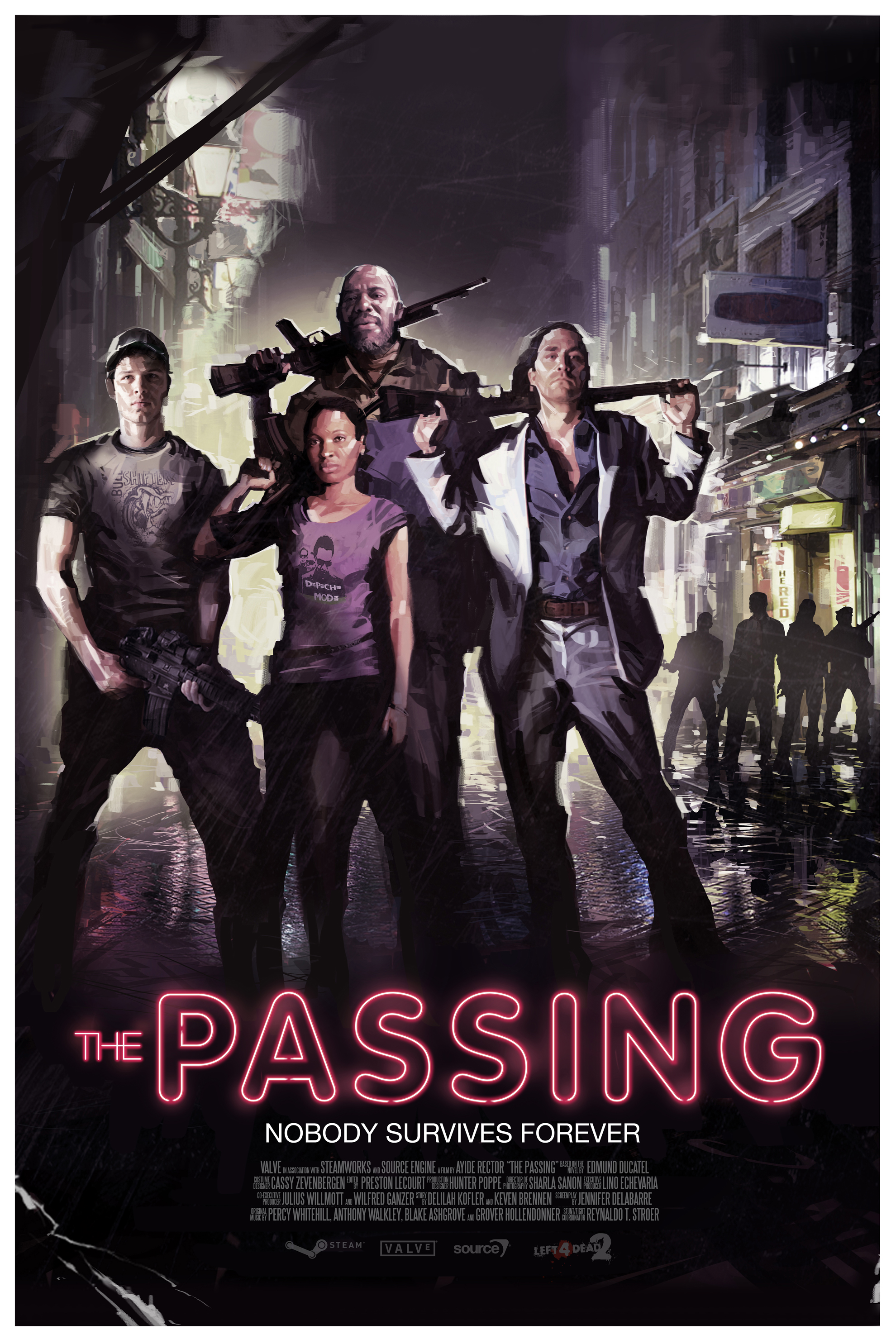 El trasnoche de The Passing: Valve nos envía el afiche oficial [Screen HD]