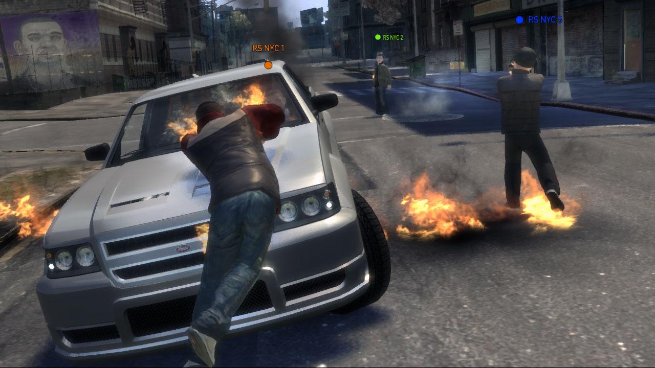 Conduciendo un automóvil como si fuera un videojuego [Video]