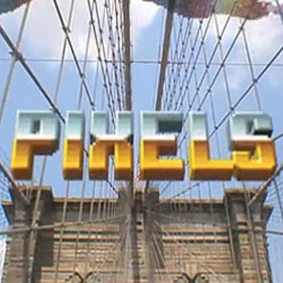 Pixels, los juegos antiguos atacan la realidad. [Video]