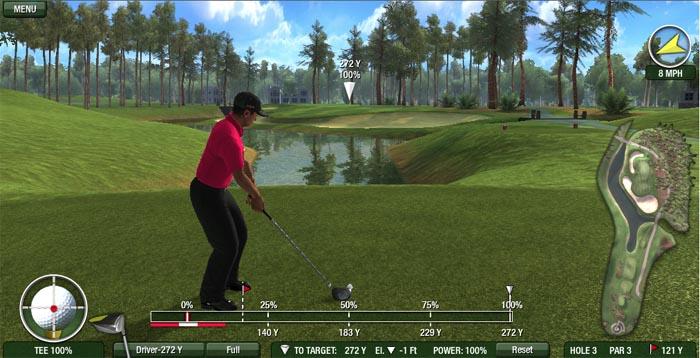 Tiger Woods PGA Tour Online abrió sus puertas hoy [3D en Browser Gratis]