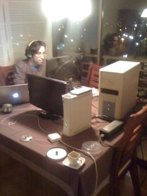 Oscar en el estudio