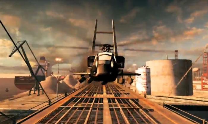 Split/Second, Presenta sus nuevo modos [Auto vs helicóptero FTW].