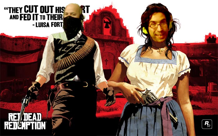 El Show de Óscar y Lagazo: Red Dead Redemption [Regalamos una Copia de Red Dead + Foto Coleccionable]