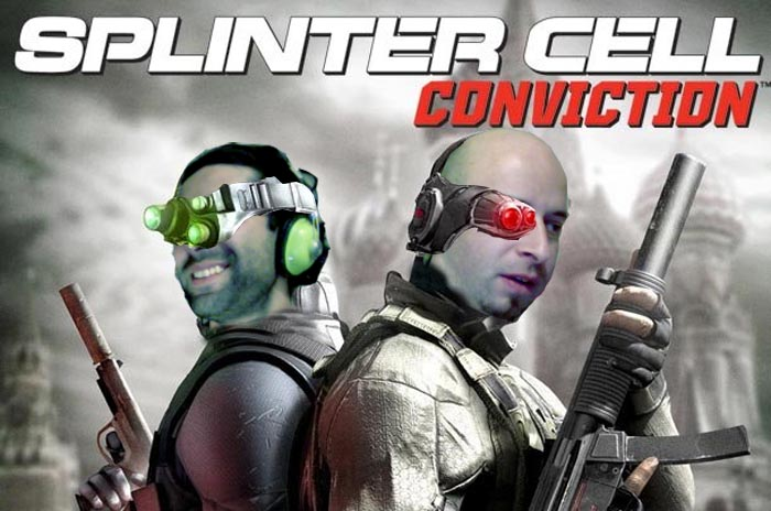 El Show de Óscar y Lagazo: Splinter Cell Conviction [LagZero Analiza en Video Jai Definichon™ + Foto Coleccionable!!]