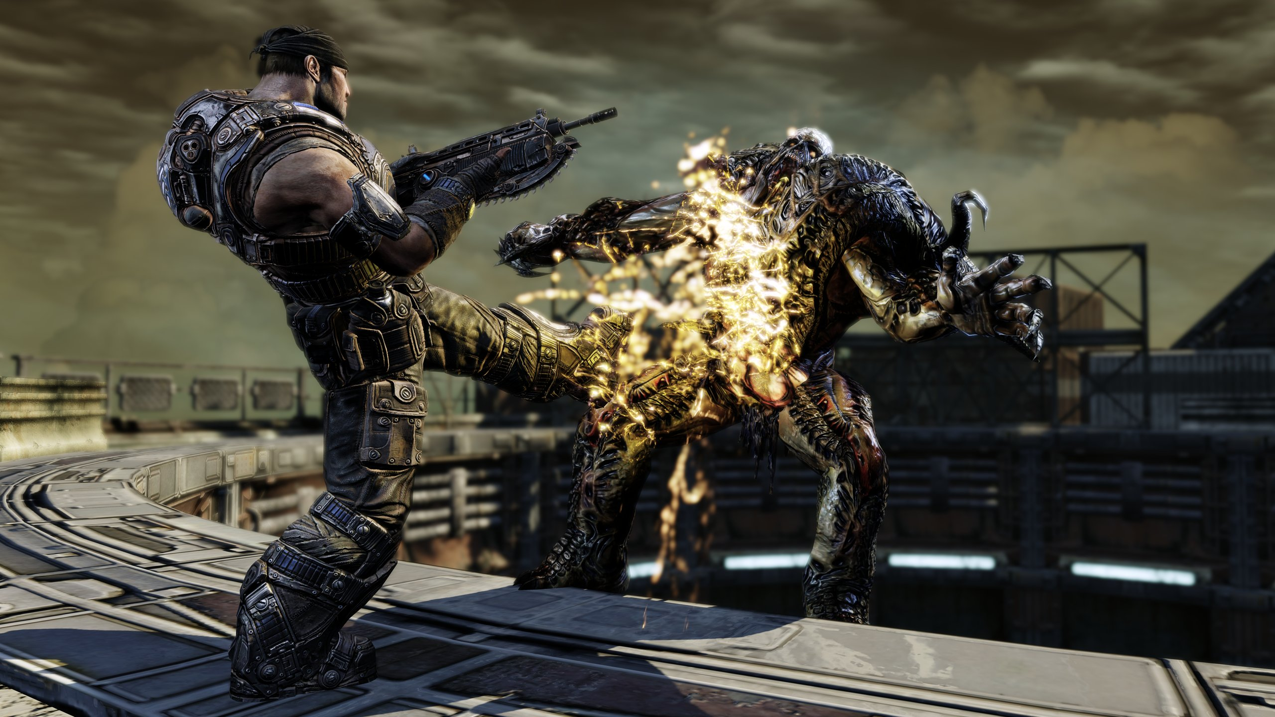Gears of War 3: otro video gameplay Singleplayer [Video] #E3