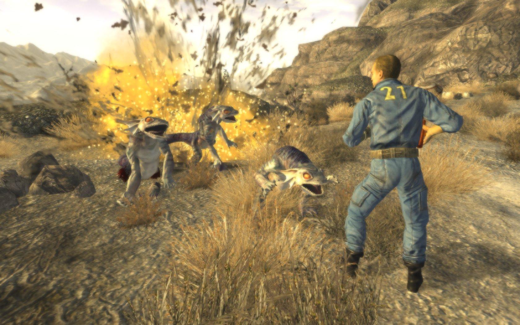 Primeras tomas ingame de Fallout: New Vegas son más familiares de lo que quisiéramos [Video]