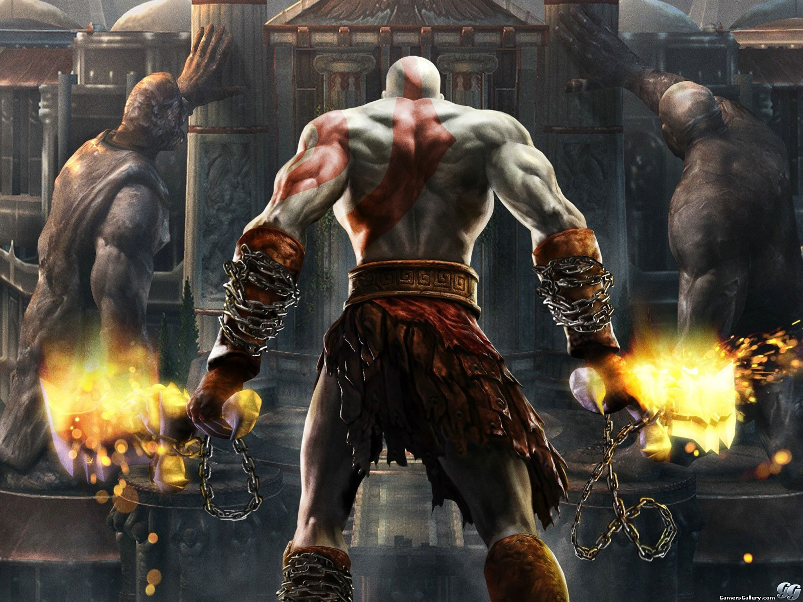 God of War: Ghost of Sparta Gameplay y PSP [Holy Sh*t]
