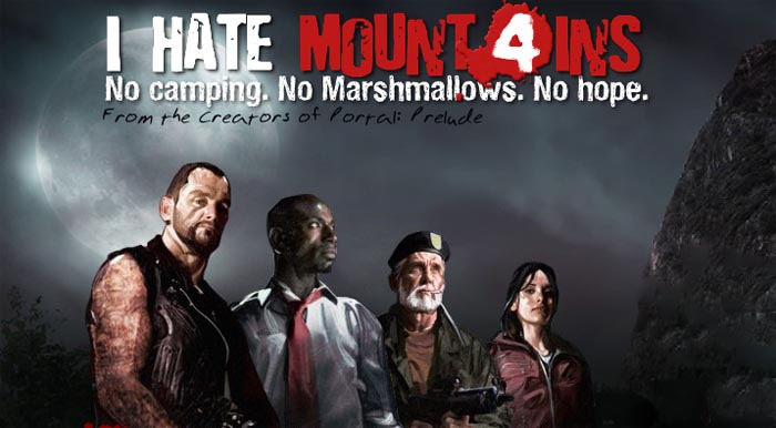 I HATE MOUNTAINS: Nueva campaña para Left 4 Dead 1 [Fan Made]